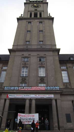 Das Schöneberger Rathaus in Berlin
