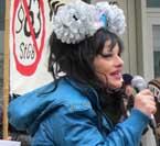 Nina Hagen protestiert gegen §63