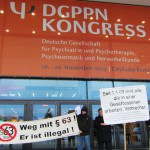 Demo vor DGPPN-Kongress - Berlin Nov 2014 (2)
