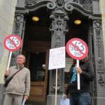 Demo Fotos vorm Amtsgericht wg. FrancoBelli (1)