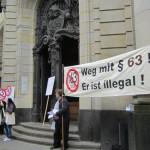Demo Fotos vorm Amtsgericht wg. FrancoBelli (12)