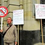 Demo Fotos vorm Amtsgericht wg. FrancoBelli (19)