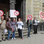 Demo Fotos vorm Amtsgericht wg. FrancoBelli (4)