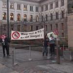 Demo gegen §63 vor Bundesrat (1)