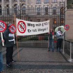 Demo gegen §63 vor Bundesrat (2)